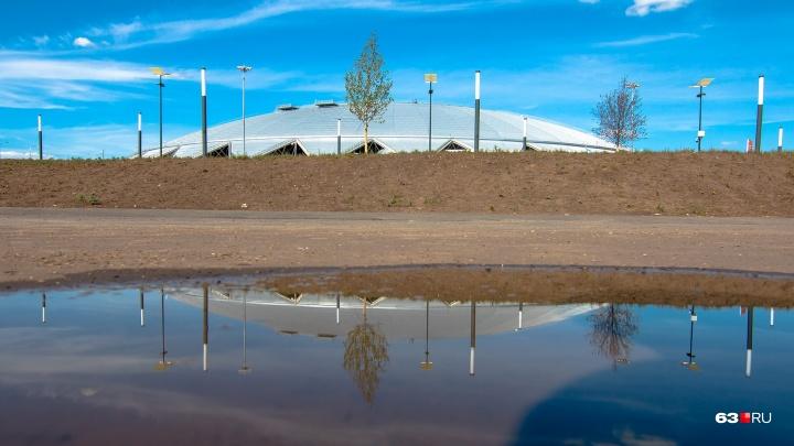 Спасти от подтопления: около «Самара Арены» поднялся уровень грунтовых вод