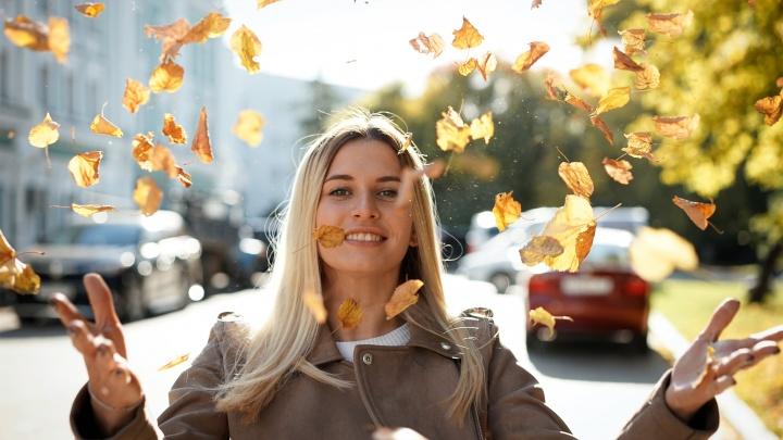 Листья в воздух: учимся делать осенние снимки с профессиональным фотографом