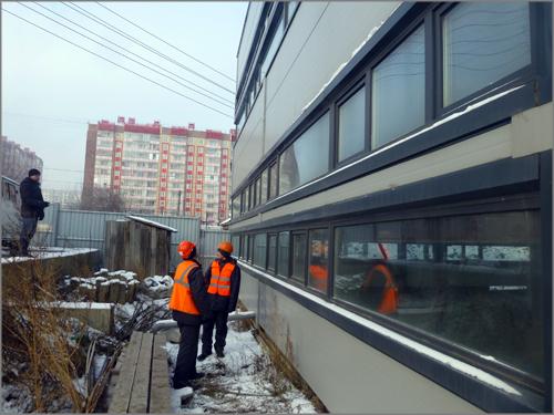 У Копылова сносят незаконные офисы и выставляют владельцу здания счет в миллион