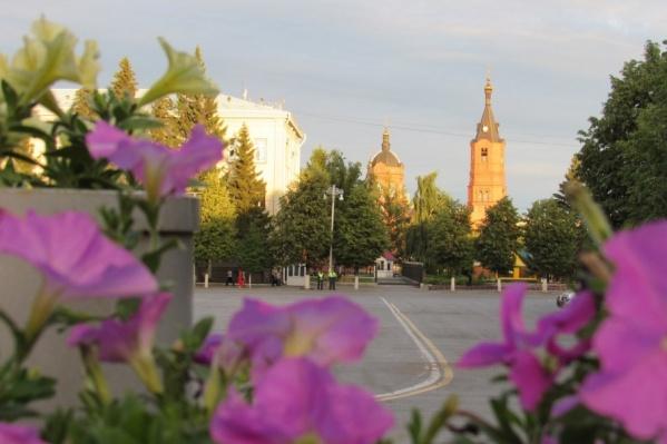 В одном только центре города будет установлено 93 вазона