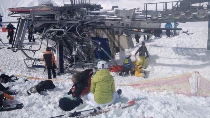 «Там была мясорубка»: екатеринбуржцам пришлось прыгать с подъёмника в Грузии, чтобы спасти жизнь
