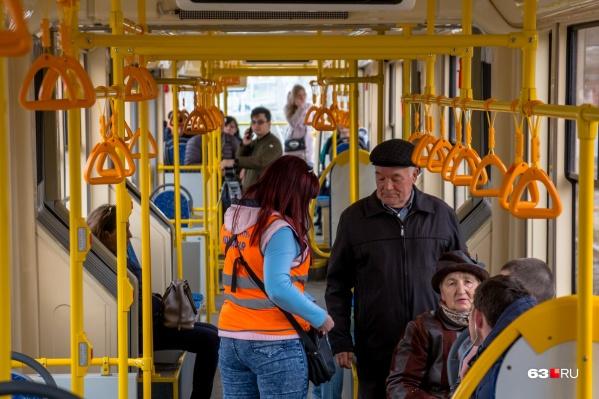 Инновацию внедрят в трамваях, автобусах и троллейбусах