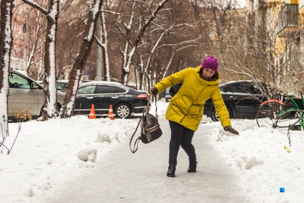 Из-за падений на льду скорую вызывали 131 раз