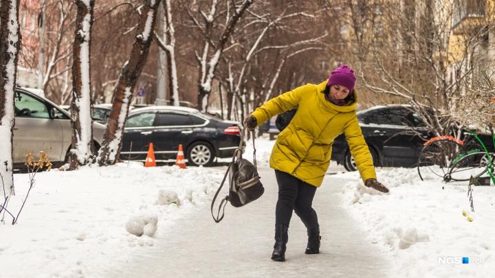 Упали на льду: 722 человека попали в травмпункты за неделю