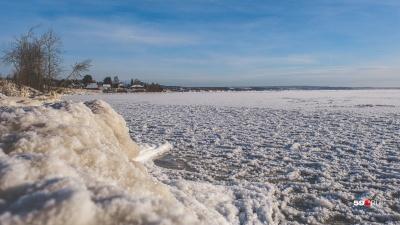 В Перми льдина с шестью рыбаками оторвалась от берега