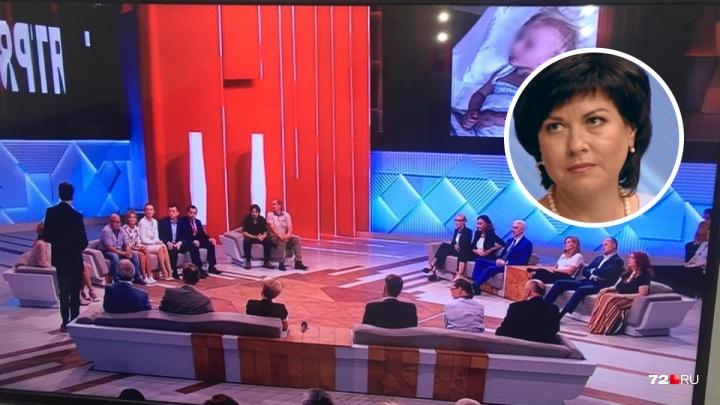 «Думали, что труп»: тюменский доктор рассказала о спасении девочки Маши в эфире шоу «Пусть говорят»