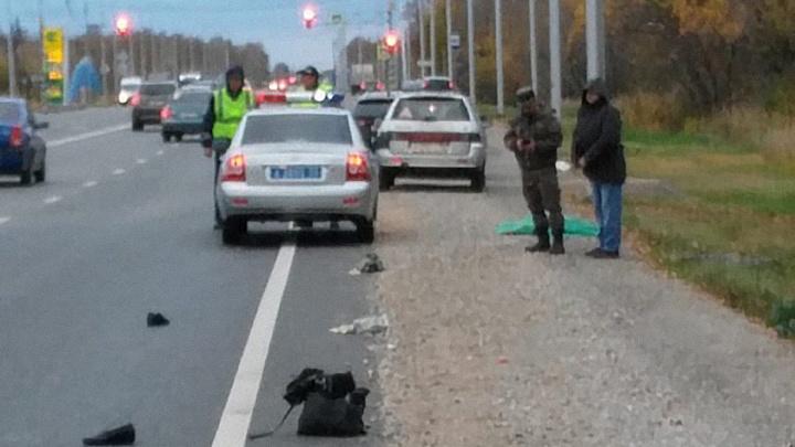 Водитель насмерть сбил пенсионерку на «зебре» в Ленинском округе