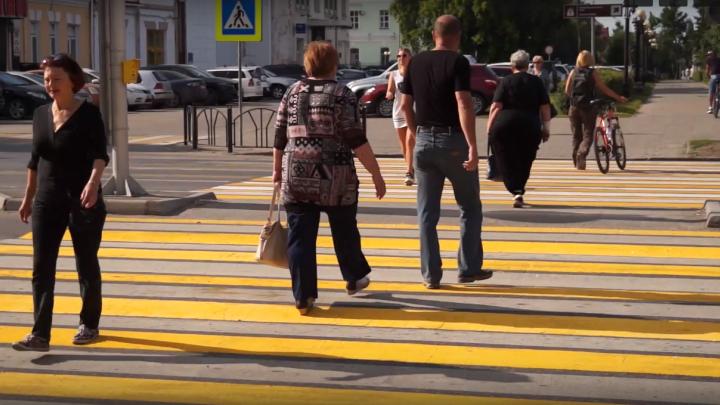 Омские обманутые дольщики на 10 минут перекрыли улицу в центре