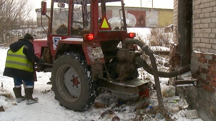 В Архангельске на старой насосной станции утонул мужчина