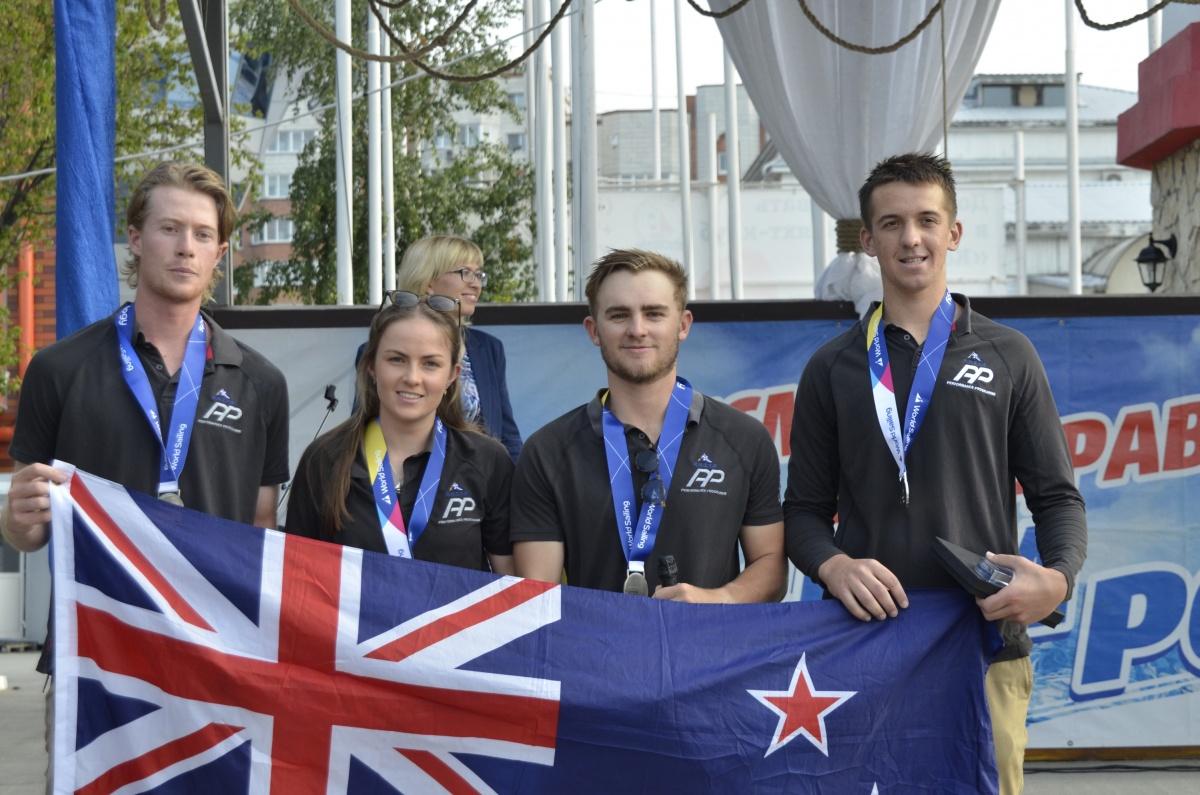 Второе место у команды из Новой Зеландии