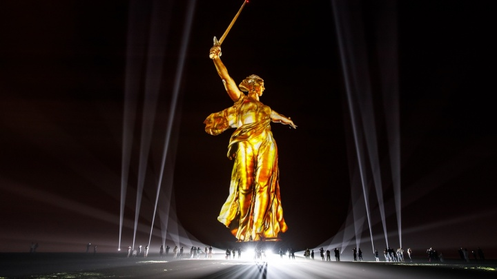 В Волгограде повторят «Свет великой Победы»: расписание двухчасовых шоу 8 и 9 мая