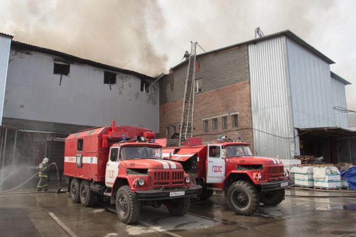 Причины пожара выясняются. Фото из архива НГС