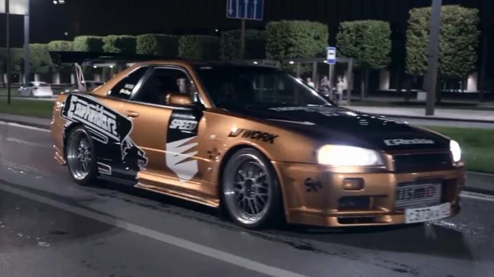 Need for Speed на дорогах Ростова: ростовчанин воплощает в реальность популярную компьютерную игру