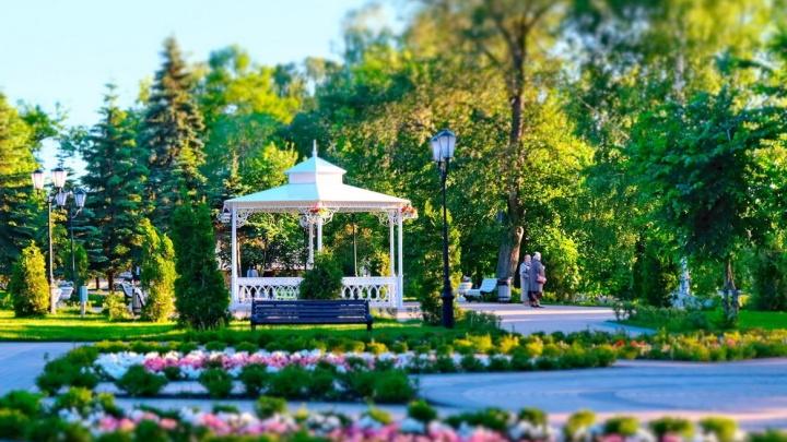 В Самаре сделаютновые цветники с улучшенным ландшафтным дизайном