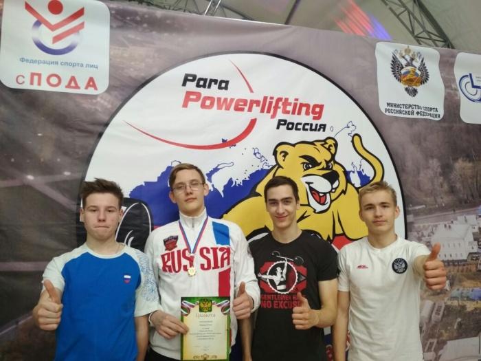 Леонид Вощиков (второй слева) во второй раз стал чемпионом России