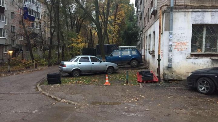Сбил и уехал: в Самаре ищут водителя — участника ДТП на Запорожской