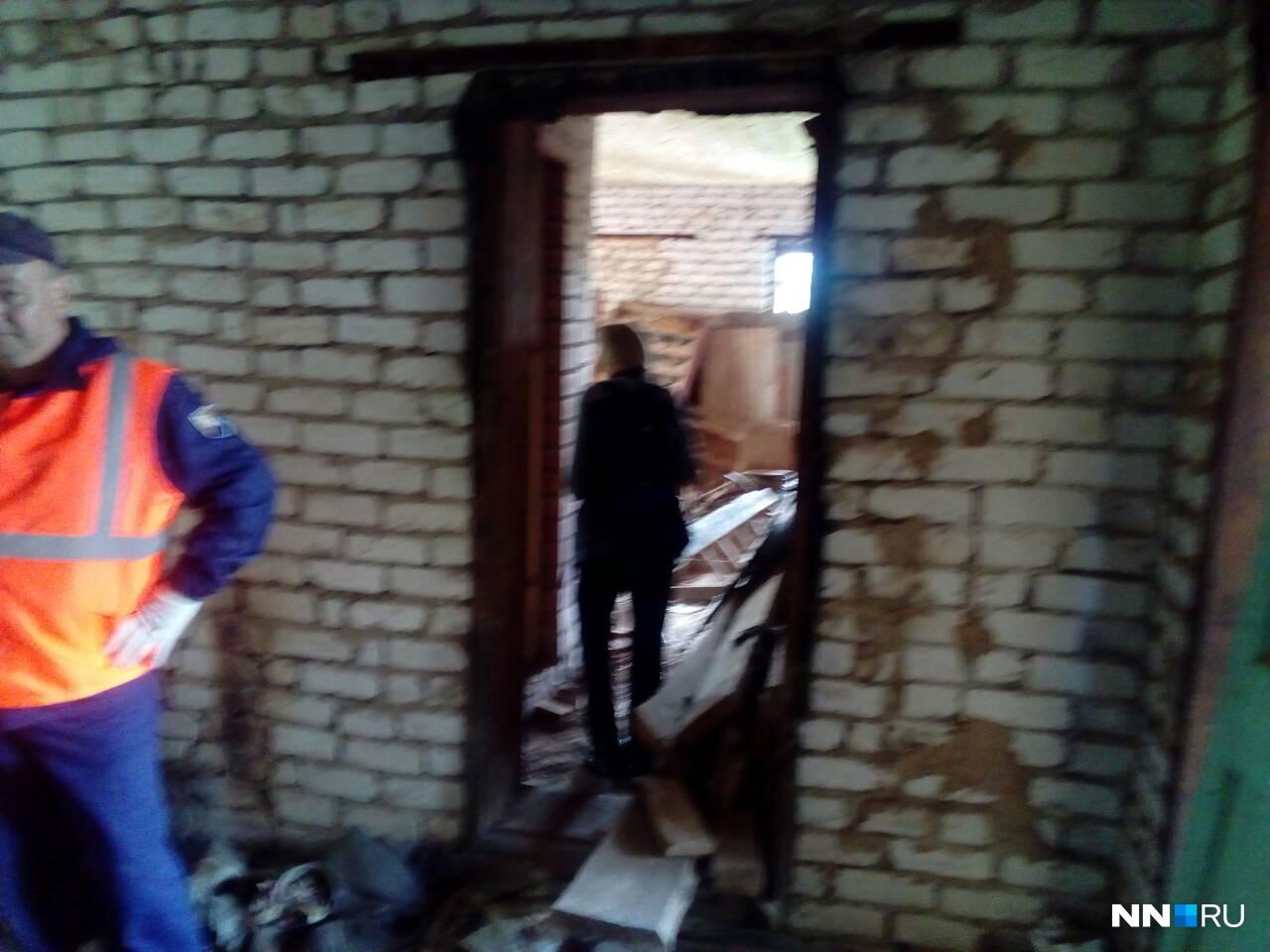Осмотр заброшенных зданий