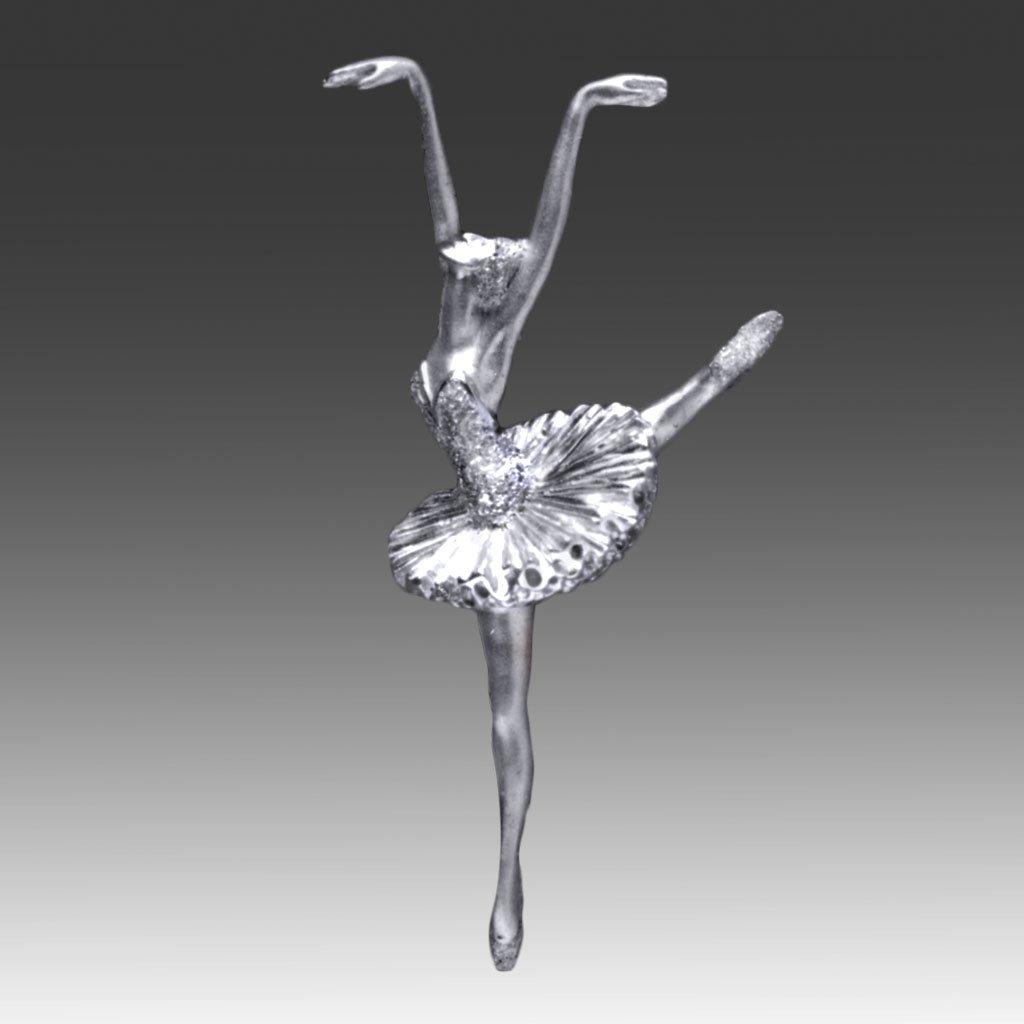 Миниатюрная скульптура балерины