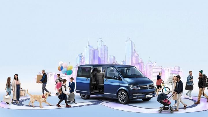 Volkswagen Caravelle City — идеальный городской автомобиль