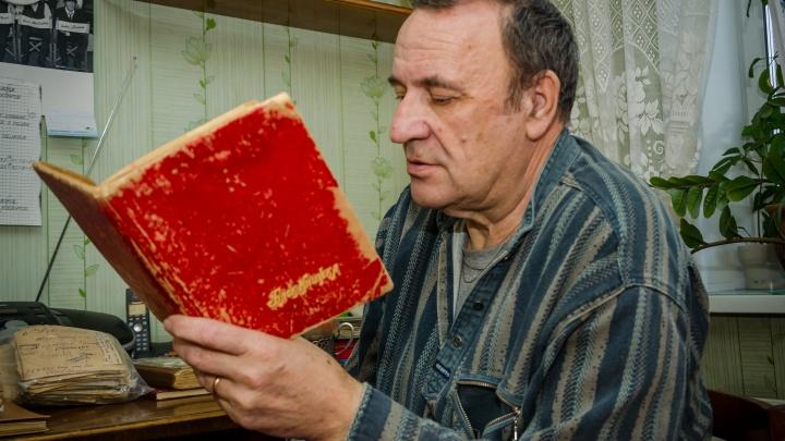 «Спешу сообщить, что я пока жив-здоров»: новосибирец хранит чемоданы дневников и писем отца с фронта