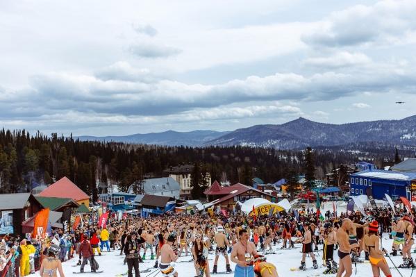 С горы спустились более полутора тысяч спортсменов
