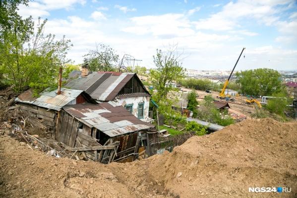 Масштабный снос Николаевки начался в 2017 году