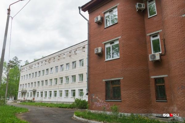 Это закамская городская клиническая больница №21. Теперь она стала филиалом ГКБ имени Гринберга