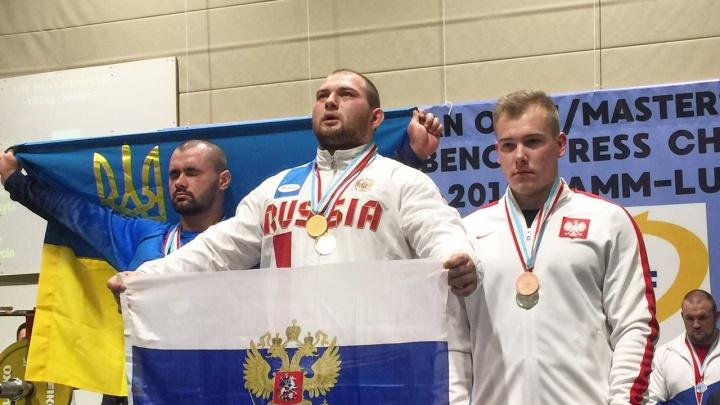 «Было страшно, но понравилось»: Роман Симахин завоевал золото первенства Европы по пауэрлифтингу