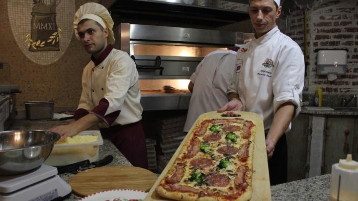 На Серебренниковской открылся ресторан с пиццами по полтора килограмма