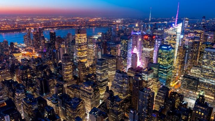Слава Степанов сделал впечатляющие фото Нью-Йорка cо 100-этажного небоскрёба