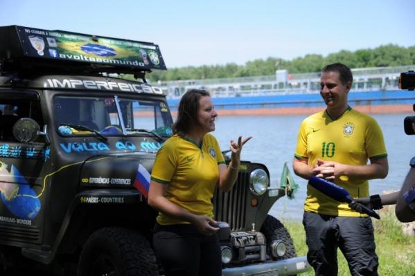 Ванесса Зандона Сартори и Линхо Бергамин отправились в путь весной 2016 года