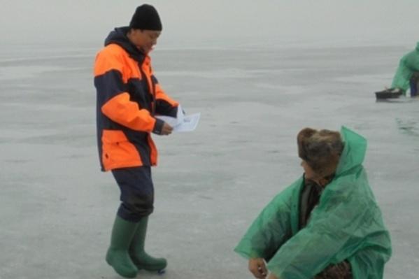 Особенно опасен для рыбалки первый лёд