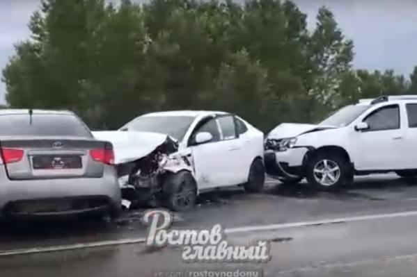 В аварии пострадали две женщины