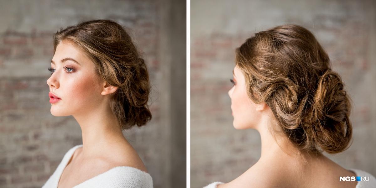 Результат должен быть воздушным и свободным, подчеркивать естественную текстуру волос и фиксации волны без склеивания. Если хочется собранные волосы — выбираем либо абсолютно гладкие, либо немного небрежный низкий пучок