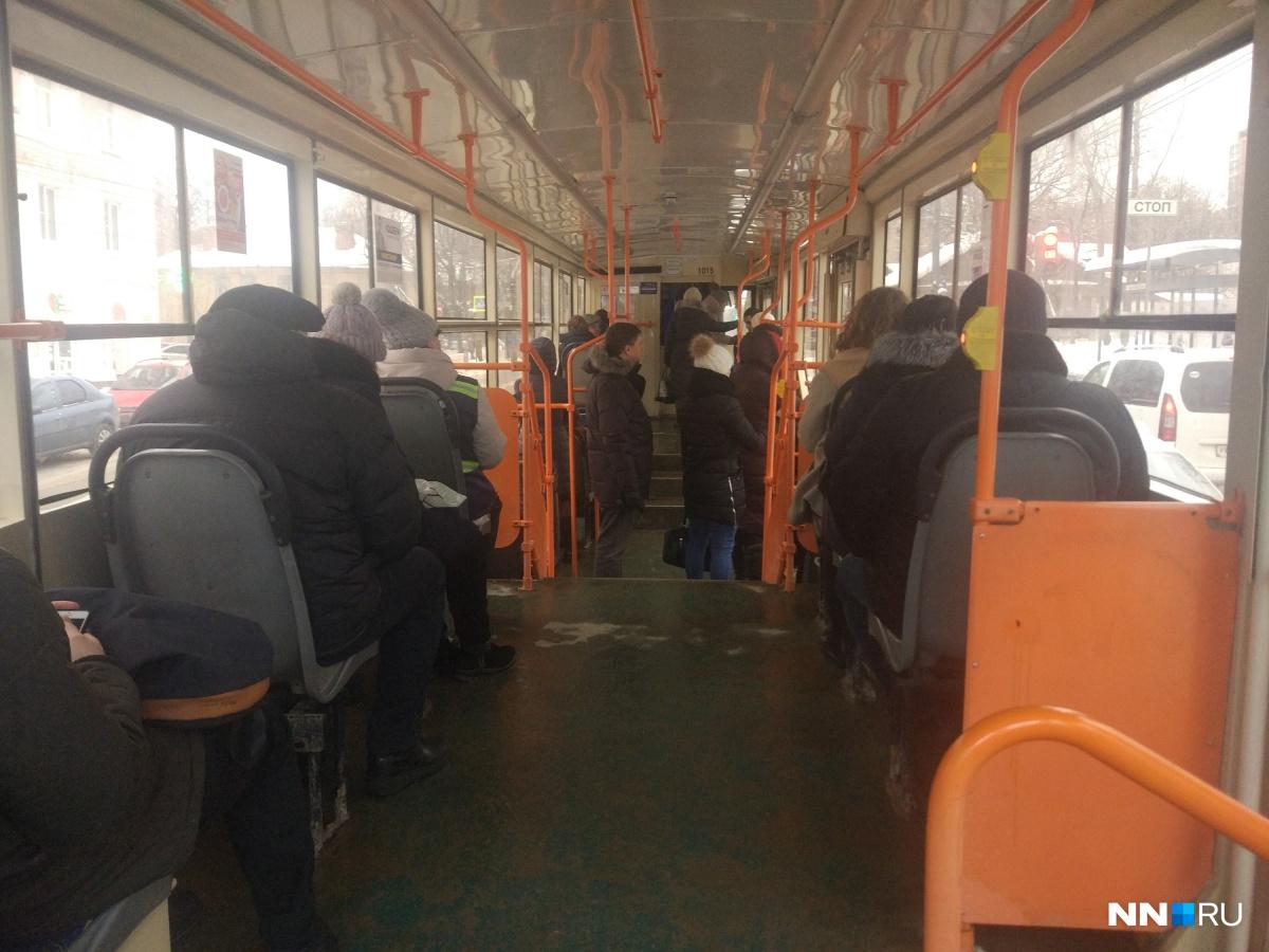 Трамвай №7 не будет ходить 19 апреля