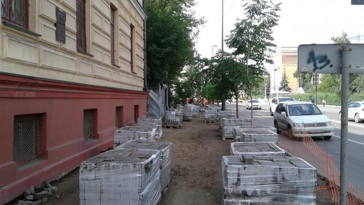 За неделю после просьбы показать «как надо» при ремонте улиц к чиновникам никто не пришел