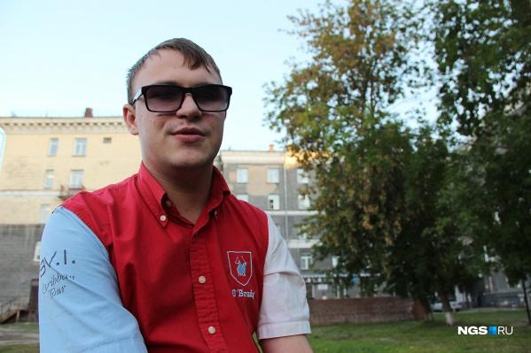 Даниил Соколкин незрячий от рождения, но умеет делать такие вещи, которые не каждый зрячий сможет выполнить