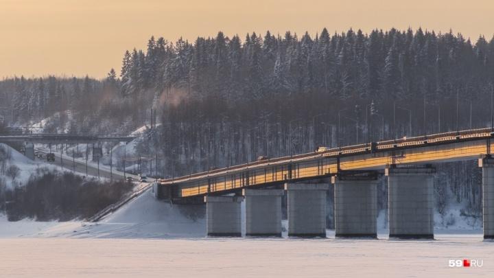 Из-за ремонта Чусовского моста мобильный трафик в этом районе вырос в пять раз
