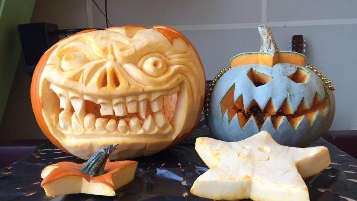 Новосибирцы начали отмечать Хэллоуин