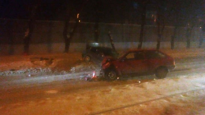 В ГИБДД рассказали подробности вечерней аварии на Сибиряков-Гвардейцев