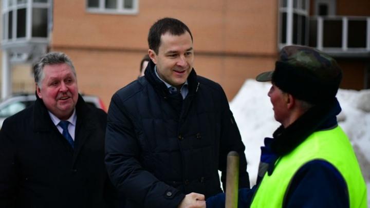 Мэр Ярославля нашёл в городе расчищенный двор