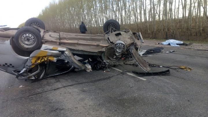 Страшная авария в Башкирии: обгон обернулся смертью для водителя