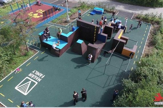 Кроме тумб все объекты в парке предлагается сделать стационарными