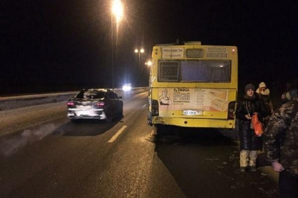 Авария произошла на Красавинском мосту