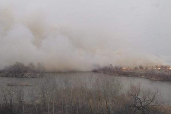 Пожарами охвачены Курган,Белозерский, Кетовский, Сафакульевский и Щучанский районы