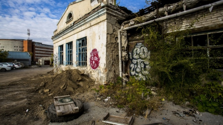В зданиях в тихом центре ввели режим ЧС — их надо сносить
