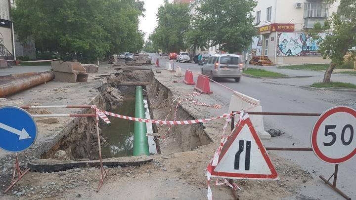 В Юргамыше дорогу отремонтировали только после вмешательства прокуратуры