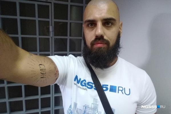 Наши дизайнеры уже примерили новую татуировку на руку корреспондента
