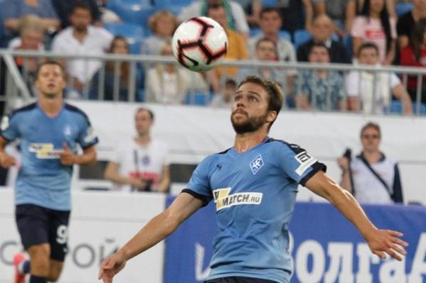 Евгений Башкиров играет за «Крылья Советов» с 2016 года