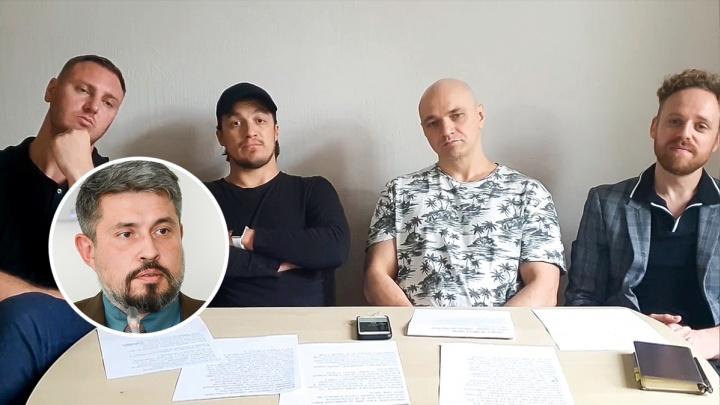 Группа «Каста» записала новое видео в поддержку главного архитектора Ростова